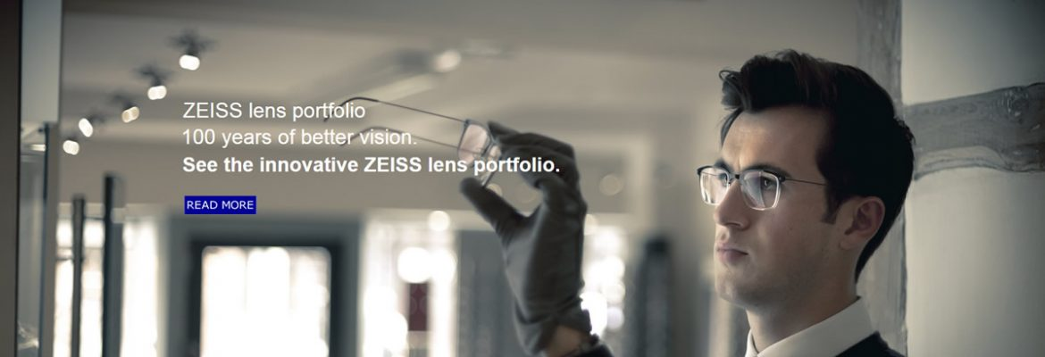 Zeiss Opticians website focuses on responsiveness