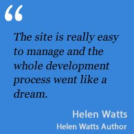 Testimonial Helen Watts Author