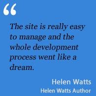Testimonial Helen Watts Author