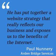 Testimonial Arden Bridge Services