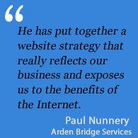 Testimonial Arden Bridge Services