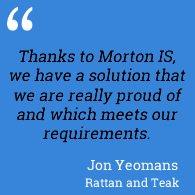 Testimonial Rattan and Teak